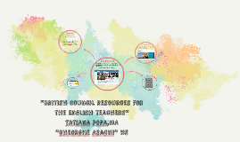 """British Council resources for the English teachers"""
