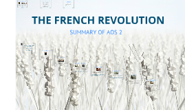 SUMMARY OF FRENCH REVOLUTION AOS2