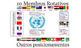 Simulação do Conselho de Segurança da ONU: Síria/2015