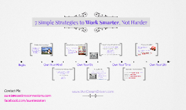 7 Simple Strategies to Work Smarter, Not Harder