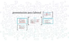 presentación para laboral