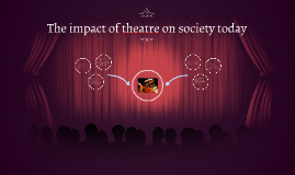 The impact of theatre on society in 400BC