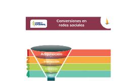 Conversiones en redes sociales