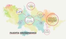 Copy of Filosofia comtemporanea