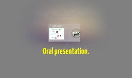 Oral presentation.