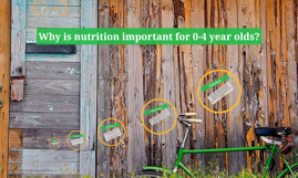 Why is nutrition important for 0-4 year olds?