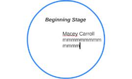 Beginning Stage
