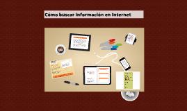 Cómo buscar información en Internet