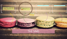 The sims is a simulation game which is designed by Will Wrig