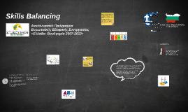 ;;; Results of Skills Balancing (Greek Presentation)