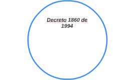 Decreto 1860 de 1994