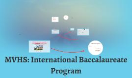 MVHS: International Baccalaureate