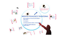 MODELO PEDAGOGICO TRADICIONAL
