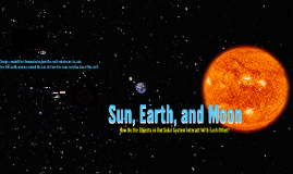 3rd gr. Science Earth and its Moon