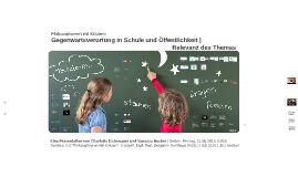 Copy of Philosophieren mit Kindern - Gegenwartsverortung und Relevanz des Themas