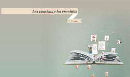 Las cronicas y los cronistas
