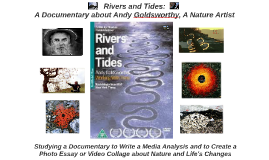 Rivers and Tides: Studying a Documentary Film