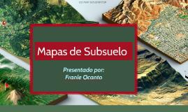 Mapas de Subsuelo