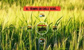 el Tiempo en chile será...