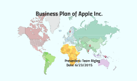 Business Plan of Apple Inc.