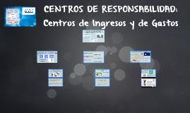CENTRO DE RESPONSABILIDADES: