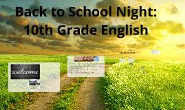 Copy of Back to School Night