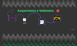 Amperímetro e Voltímetro