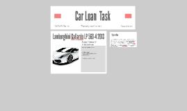 Car Loan  Task
