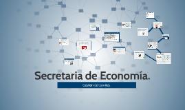 Secretaria de Economía.