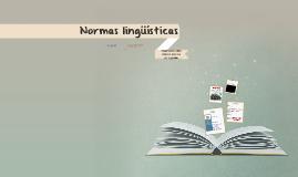 Normas linguísticas