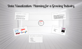 Strategic Planning for the Data Visualization Field
