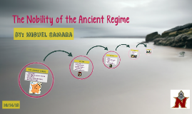 The Nobility of the Ancient Regime