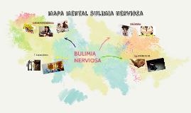 mapa mental bulimia nerviosa