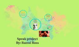 Copy of Speak project