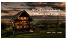 direcció d'establiments d'allotjament rural