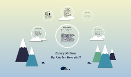 Carrie Nation by Carter Berryhill