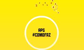 #COMOFAZ A APS - JORNALISMO
