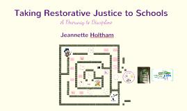 Copy of Restorative Justice