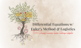 Differential Equations w/ Euler's Method & Logistics