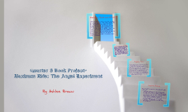 Quarter 3 Book Project - Maximum Ride: The Angel Experiment