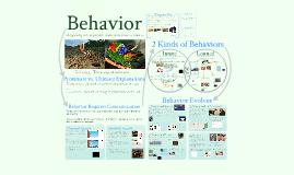 Copy of Copy of AP Bio- Ecology 1: Behavior