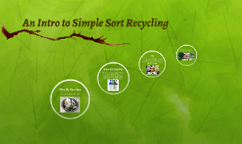 SEAC Simple Sort Recycling