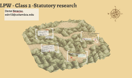 LPW - Class 3 - Statutory Research