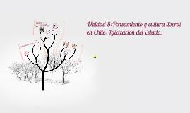 Pensamiento y cultura liberal en Chile: Laicización del Esta