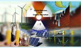 Efectos negativos de las energias Alternativas