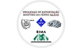 PROCESSO DE EXPORTAÇÃO MARÍTIMA DO FERRO SILÍCIO