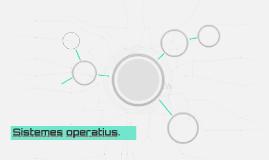 Sistemes operatius.