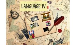 LANGUAGE IV