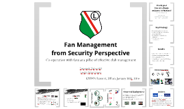 Fan Management from Security Perspective