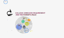 WHAT PARENTS NEED TO KNOW ABOUT THE COLLEGE ADMISSION GAME